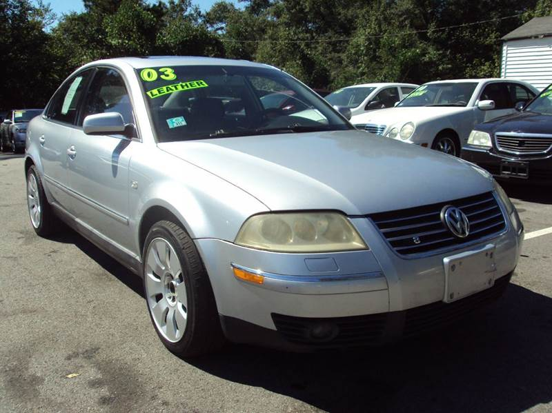 2003 volkswagen passat w8 4motion awd 4dr sedan in buford ga georgia fine motors. Black Bedroom Furniture Sets. Home Design Ideas