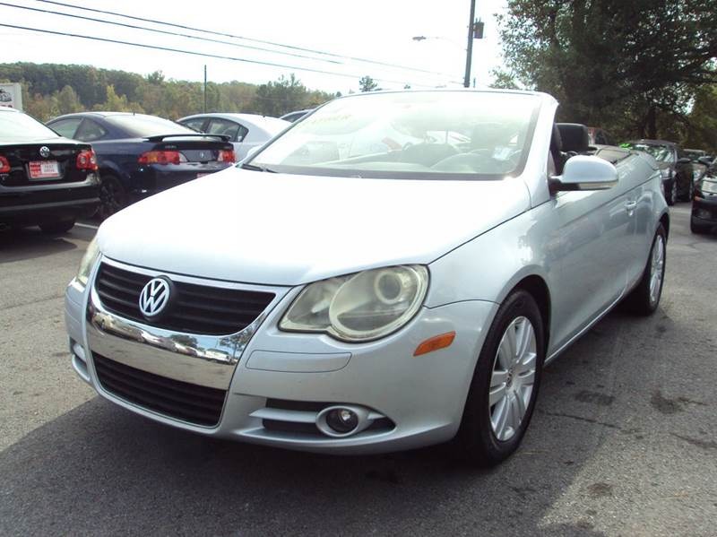 2007 volkswagen eos 2 0t 2dr convertible 2l i4 6a in buford ga georgia fine motors. Black Bedroom Furniture Sets. Home Design Ideas