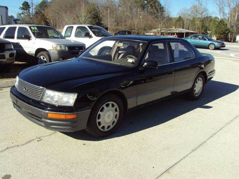 1995 lexus ls 400 for sale in buford ga. Black Bedroom Furniture Sets. Home Design Ideas
