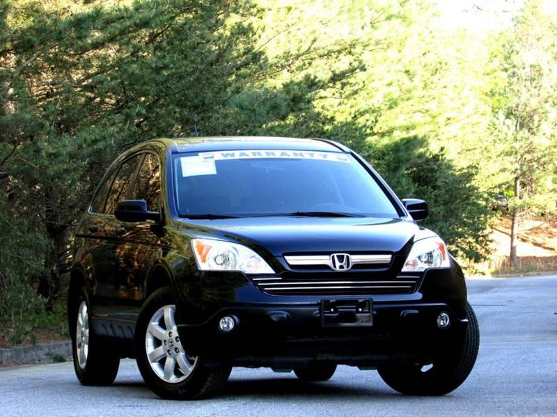 2008 HONDA CR-V EX-L WNAVI 4DR SUV WNAVI black 1 owner cr-v with navigation never seen snow ov