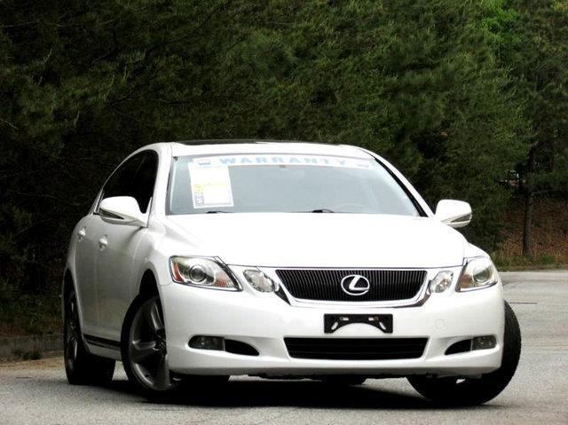 2008 LEXUS GS 350 BASE 4DR SEDAN white 1 owner awd navigation rear view camera non-smoker and