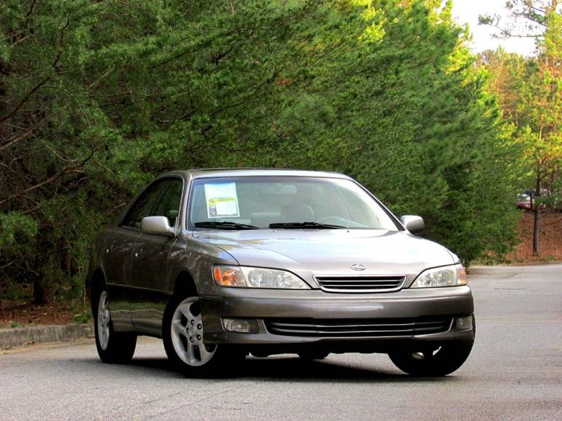 2000 LEXUS ES 300 BASE 4DR SEDAN gray 2 owners low miles es 300 loaded cruise control sun roo