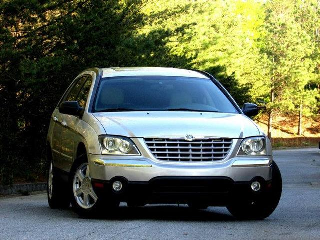 2004 CHRYSLER PACIFICA BASE AWD 4DR WAGON biege 1 owner fresh trade with over 12 service records