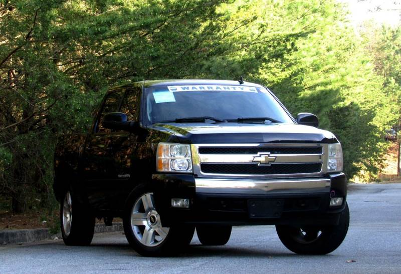 2008 CHEVROLET SILVERADO 1500 LT2 2WD 4DR CREW CAB 58 FT SB black texas edition 2 owner with ove