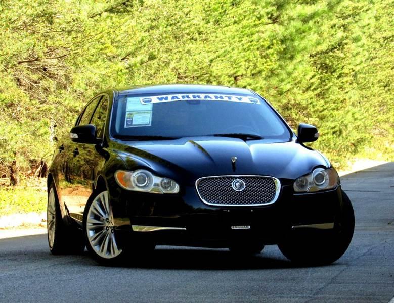2009 JAGUAR XF PREMIUM LUXURY 4DR SEDAN black stunning jaguar xf 2009 premium luxury edition this