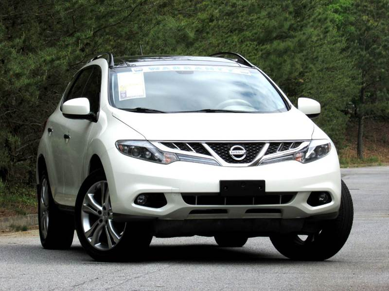 2011 NISSAN MURANO LE AWD 4DR SUV white loaded awd with navigation rear view camera panorama roo