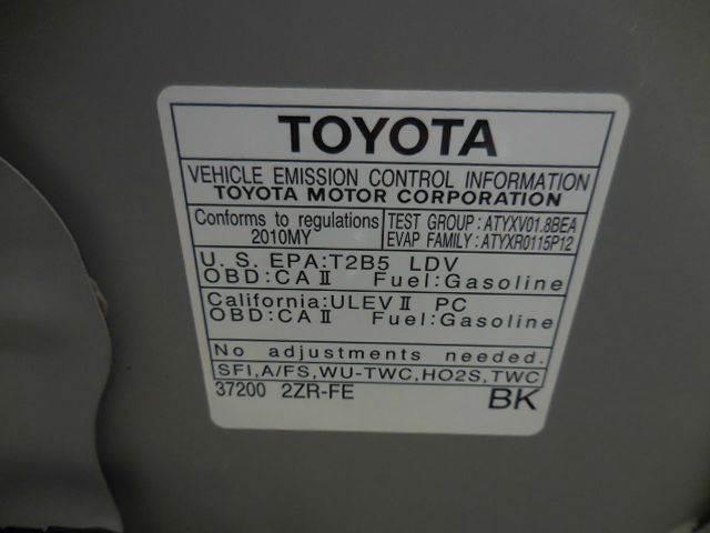 2010 Toyota Corolla S 4dr Sedan 4A - Versailles MO