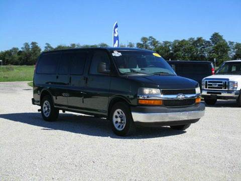 2011 Chevrolet Express Passenger for sale in Versailles, MO