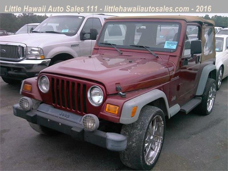 jeep wrangler for sale in florence sc. Black Bedroom Furniture Sets. Home Design Ideas