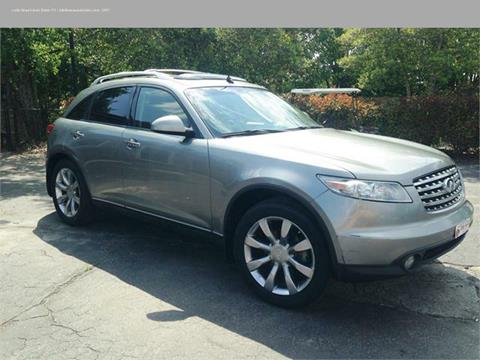 2004 Infiniti FX35 for sale in Florence, SC