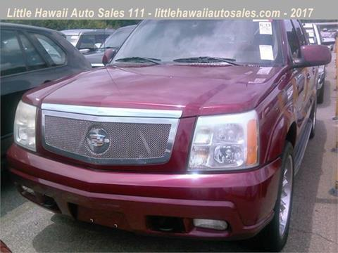 2004 Cadillac Escalade EXT for sale in Florence, SC