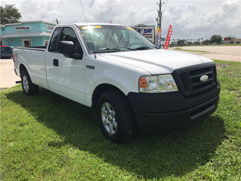 2008 Ford F-150 ... & Ford Used Cars Pickup Trucks For Sale Palm Bay Palm Bay Motors markmcfarlin.com