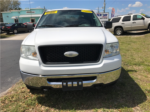 2006 Ford F-150 2006 Ford F-150 ... & Ford Used Cars Pickup Trucks For Sale Palm Bay Palm Bay Motors markmcfarlin.com