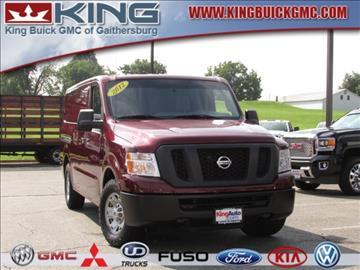 2012 Nissan NV Cargo for sale in Gaithersburg, MD