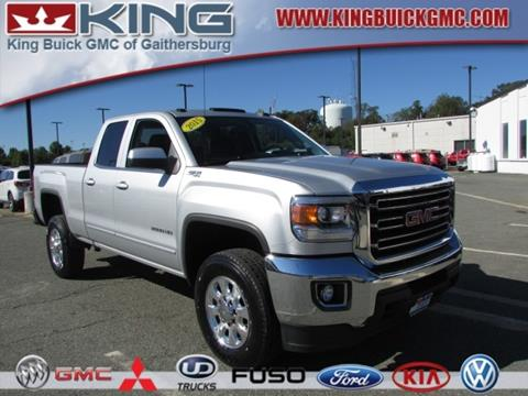 2015 GMC Sierra 2500HD for sale in Gaithersburg, MD