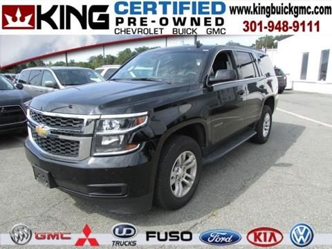 2017 Chevrolet Tahoe for sale in Gaithersburg, MD