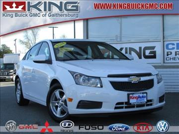 Chevrolet Cruze For Sale Gaithersburg Md Carsforsale Com
