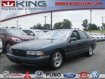 1996 Chevrolet Impala for sale in Gaithersburg, MD