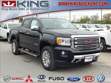 2017 Gmc Canyon For Sale In Maryland Carsforsale Com