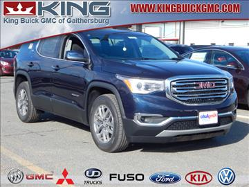 2017 GMC Acadia for sale in Gaithersburg, MD
