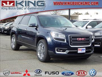 2017 GMC Acadia Limited for sale in Gaithersburg, MD