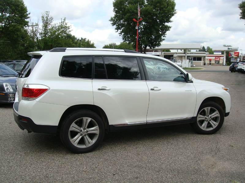 2013 toyota highlander limited awd 4dr suv in shakopee mn marx motors llc. Black Bedroom Furniture Sets. Home Design Ideas