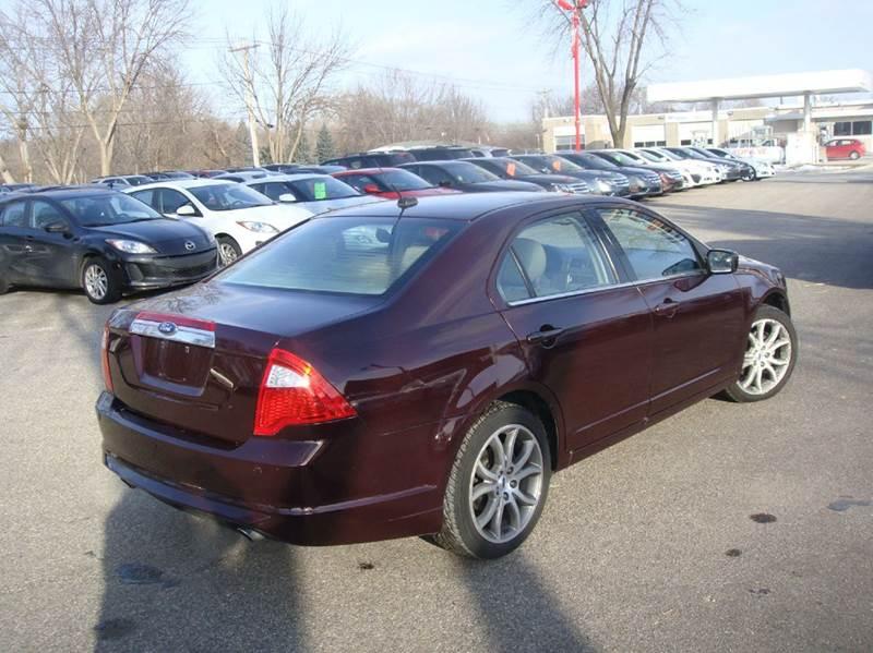 2011 ford fusion sel awd 4dr sedan in shakopee mn marx. Black Bedroom Furniture Sets. Home Design Ideas
