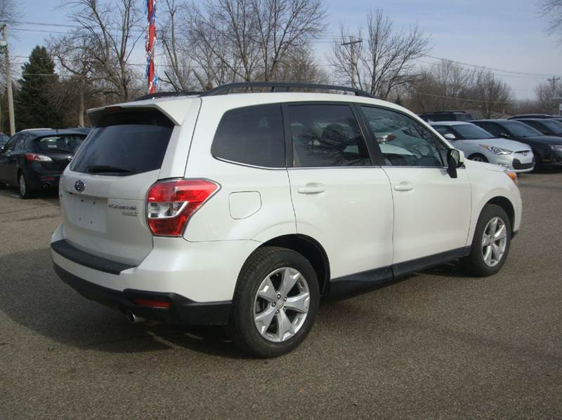 2015 Subaru Forester 2.5i Limited AWD 4dr Wagon - Shakopee MN