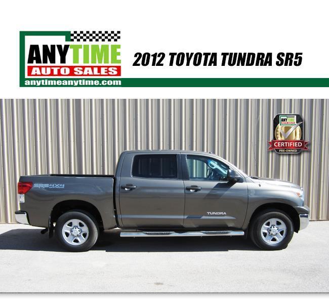 2012 Toyota Tundra 4x4 Grade 4dr CrewMax Cab Pickup SB (4.6L V8)