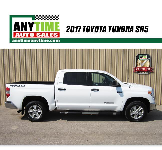 2017 Toyota Tundra SR5 4x4   $41,792 W.A.C.*   Rapid City SD