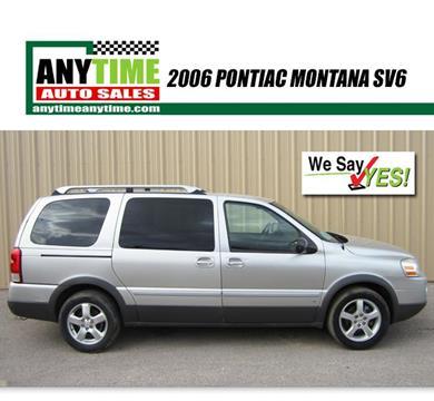 2006 Pontiac Montana SV6 for sale in Rapid City, SD