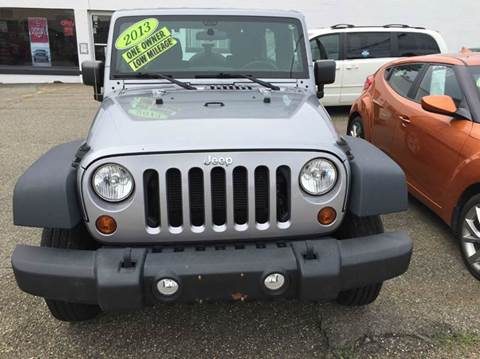 2013 Jeep Wrangler Unlimited for sale in Barnesville OH