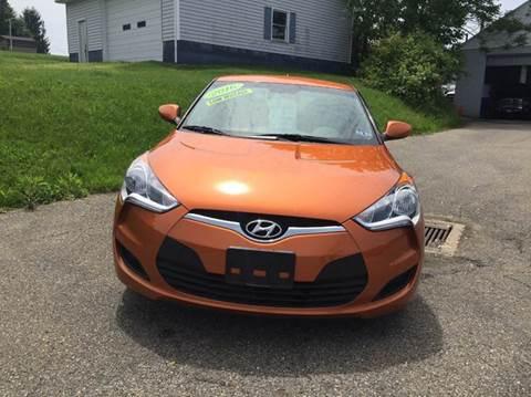 2016 Hyundai Veloster for sale in Barnesville, OH