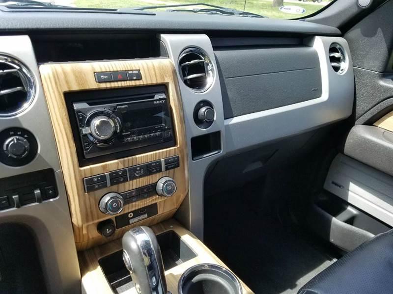 2011 Ford F-150 4x4 Lariat 4dr SuperCrew Styleside 5.5 ft. SB - Saint Marys KS