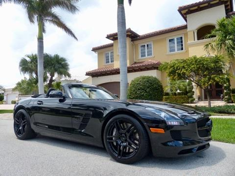 2012 Mercedes Benz SLS AMG For Sale In Pompano Beach, FL