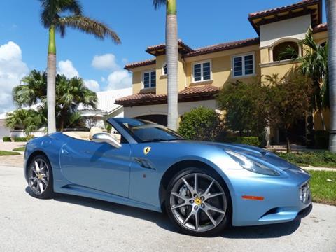2012 Ferrari California for sale in Pompano Beach, FL