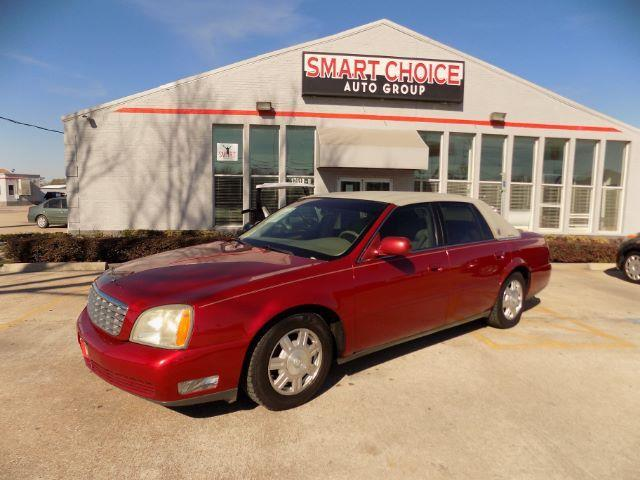 2003 CADILLAC DEVILLE BASE 4DR SEDAN red front air conditioningfront air conditioning - automati