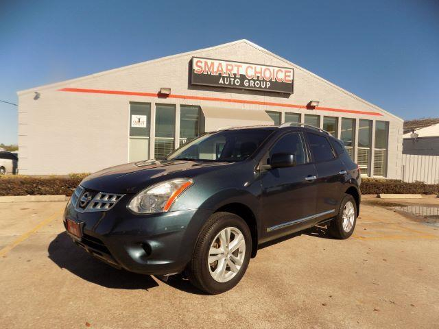 2012 NISSAN ROGUE SV FWD blue abs brakesair conditioningalloy wheelsamfm radiocargo area tie