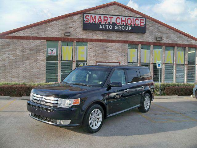 2009 FORD FLEX SEL black options abs brakesair conditioningalloy wheelsamfm radioautomatic head