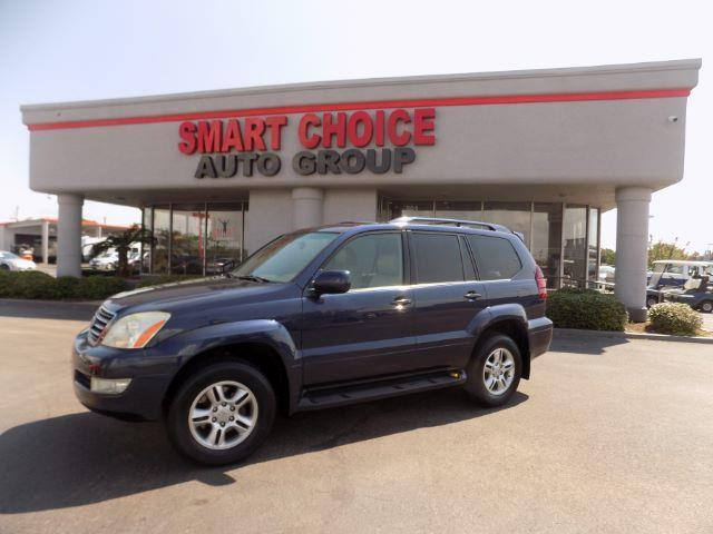 2004 LEXUS GX 470 BASE 4WD 4DR SUV blue 4wdawdabs brakesair conditioningalloy wheelsamfm ra