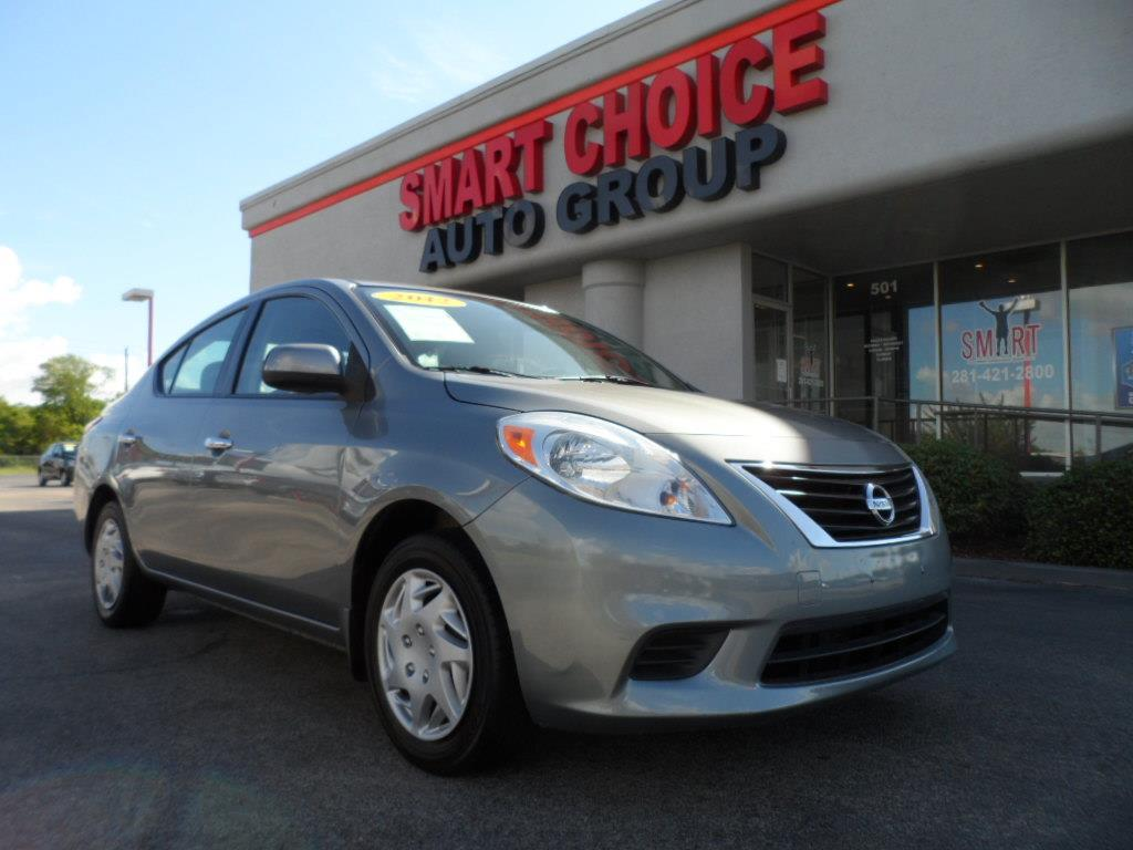 2012 NISSAN VERSA 16 S CVT magnetic gray laporte mitsubishi w in-house advantage also can put