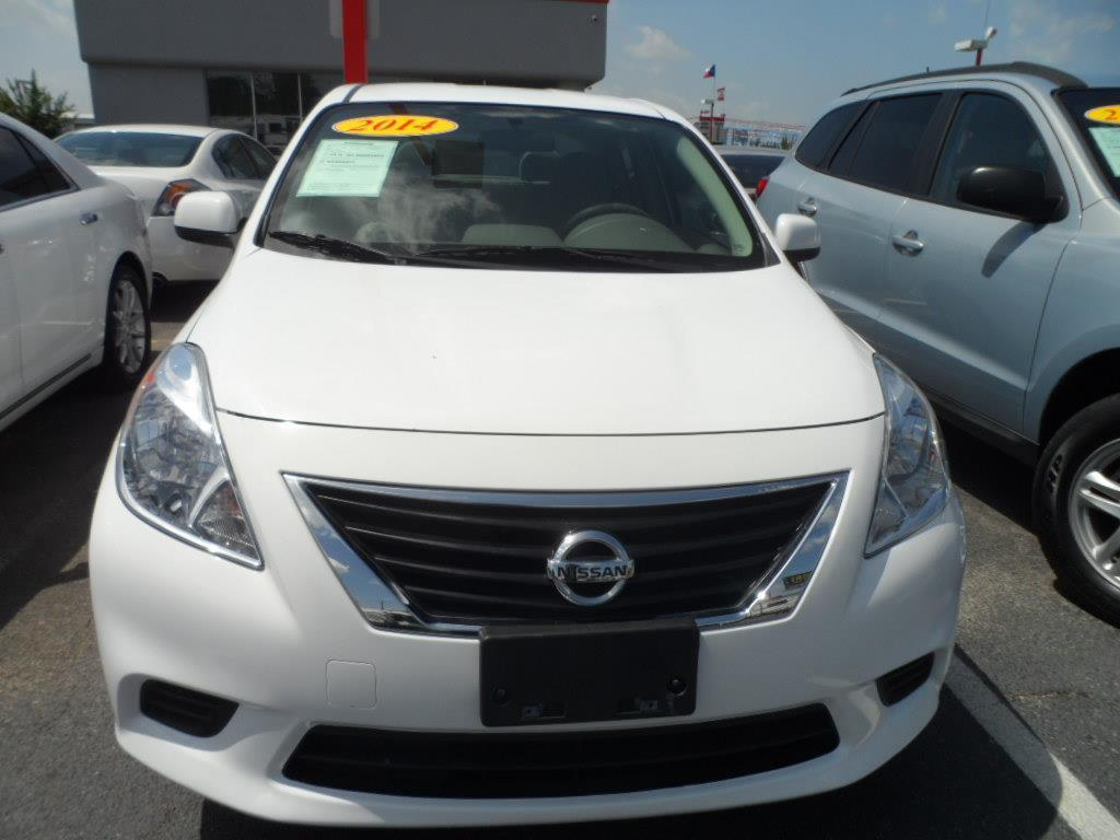 2014 NISSAN VERSA S fresh powder laporte mitsubishi w in-house advantage also can put a positive