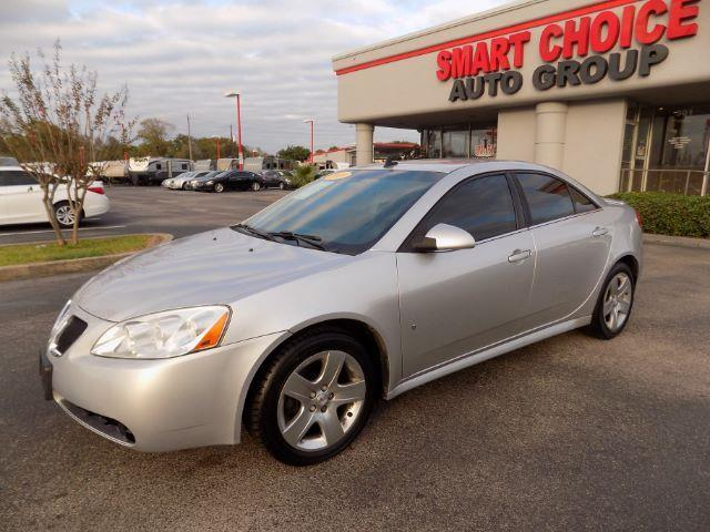 2009 PONTIAC G6 SEDAN silver abs brakesair conditioningamfm radioautomatic headlightscd play