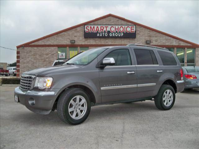 2008 CHRYSLER ASPEN LIMITED grey abs brakesair conditioningalloy wheelsamfm radioautomatic h