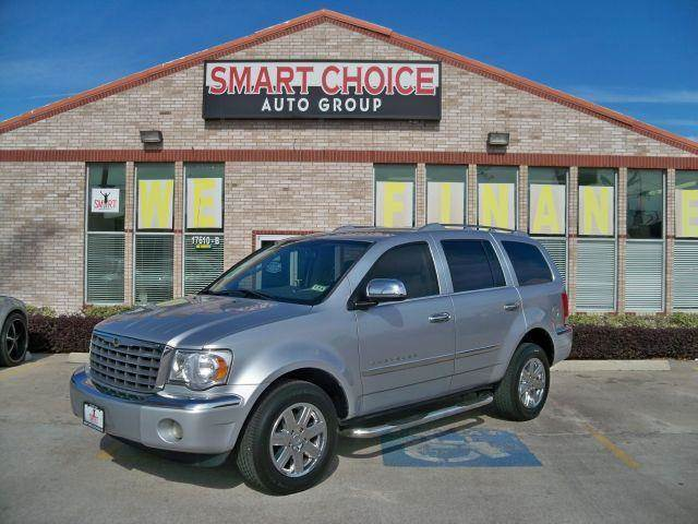 2007 CHRYSLER ASPEN 2WD LIMITED bright silver metallic options abs brakesair conditioningalloy w