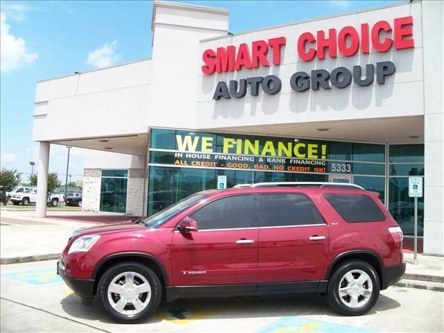 2008 GMC ACADIA SLT-1 4DR SUV maroon mirror color - body-color rear spoiler 3rd row floor mats