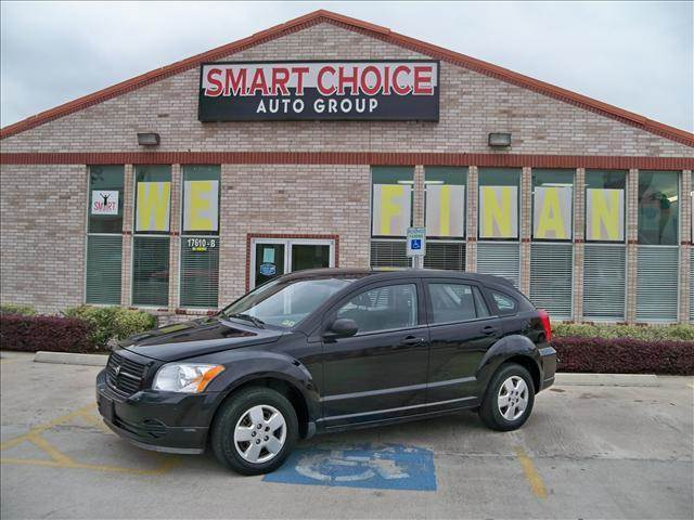 2007 DODGE CALIBER HATCHBACK FWD black options air conditioningamfm radiocd playerchild safety