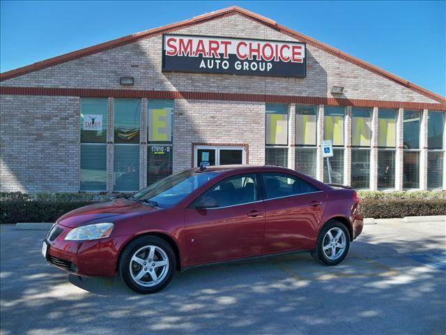 2009 PONTIAC G6 GT 4DR SEDAN red body side molding - body color bumper color - body-color carbo