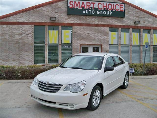 2009 CHRYSLER SEBRING SEDAN LX stone white options abs brakesair conditioningamfm radioautomati