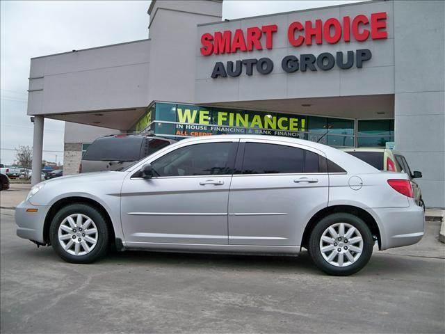 2008 CHRYSLER SEBRING LX gray abs brakesair conditioningamfm radioautomatic headlightscd pla